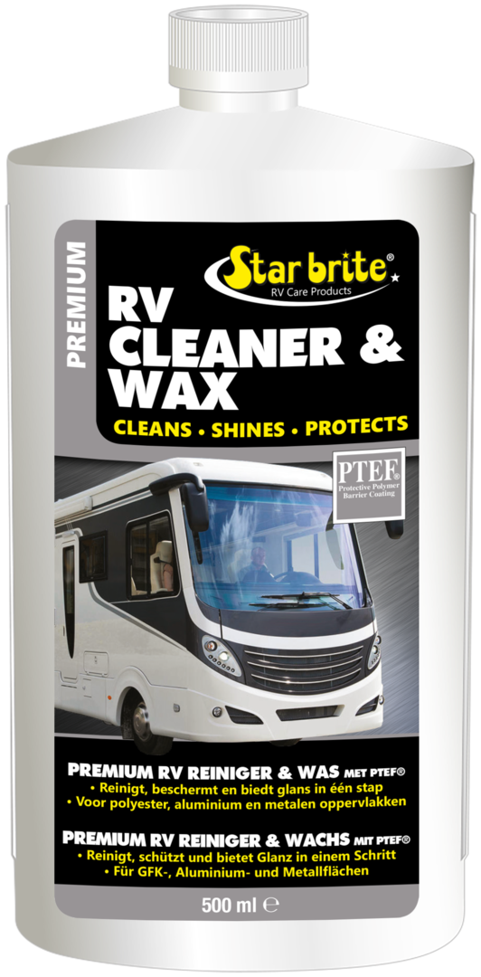 Starbrite Premium Cleaner & Wax 500ml